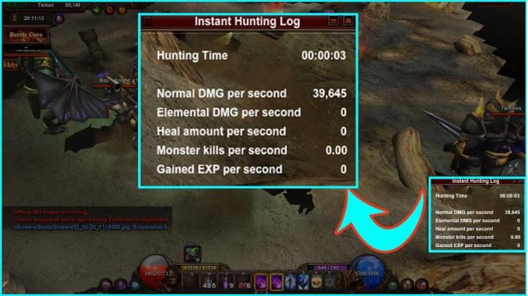 Nhật ký săn bắn tức thời