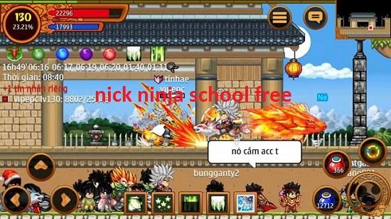 nick ninja school free